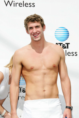Michael Phelps T And Workout
